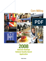 2008 Cargill Corn Milling Application Summary