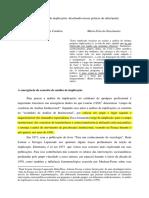 Analise Das Implicações Coimbra Sublinhado
