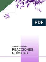REACCIONES-QUIMICAS Profesor10