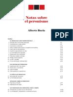 Notas Sobre El Peronismo
