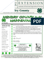 Hendry County 4-H September Newsletter