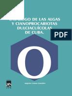 Catalogo de Algas y Cianobacterias