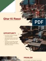 B-Plan_Ghar Ki Rasoi.pptx