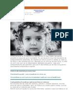 Cinci Comportamente Ale Parintilor Care Afecteaza Dezvoltarea Emotionala a Copiilor