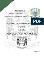 Un3.Tem3.Act4.Marco Lopez Despotismo REVOLUCIÓN FRANCESA
