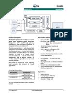sx1301 datasheet semtech