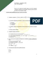 Ficha 1 - 8 Ano Matematica
