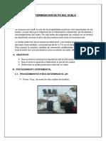 Informe 06 Determinacion Del PH