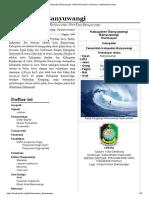 Kabupaten Banyuwangi - Wikipedia Bahasa Indonesia, Ensiklopedia Bebas