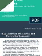 Principales estándares para redes y telecomunicaciones