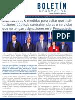 Boletín de la Dirección General de Presupuesto de la Rep. Dominicana 03/2018