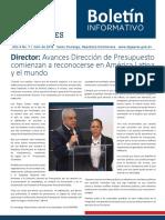 Boletín de la Dirección General de Presupuesto de la Rep. Dominicana 07/2018