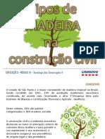 EDIF_Tipos de Madeira Na Construção Civil