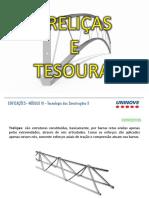 EDIFICAÇÕES_Treliças e Tesouras
