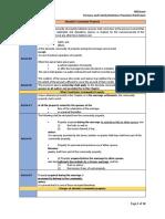 Memory Aid Provisions Persons-3rd Exm