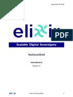 Elixxir Technical Brief