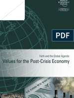 2010.01 Values for the Post-Crisis Economy [WEF]