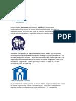 Insituciones Publicas de El Salvador