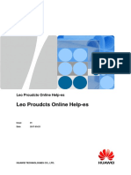 Leo Proudcts Online Help