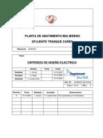 Diseño Electrico Pta Molibdeno