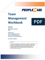 Team Management WorkBook