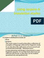 Corpora in Translation