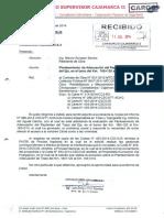 CARTA N° 457-2014-CSCII-JS - PLANTEAMIENTO DE ADECUACION DE REPLANTEO