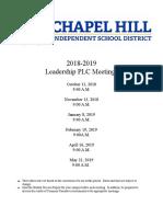18-19 leadership plc