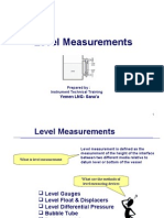 Level Measurement (RADAR Trasnmitter )