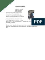 Relé electromecánico