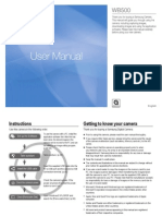 Samsung WB500 User Manual (English)