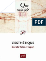 L'esthetique - Talon-Hugon Carole.epub