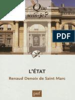 L'Etat - Denoix de Saint Marc Renaud