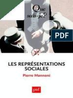 Les Representations Sociales - Mannoni Pierre