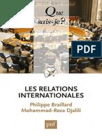 Les Relations Internationales - Braillard Philippe, Djalili Moh