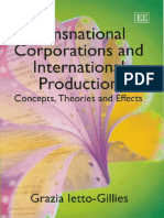 Principal - Grazia Ietto-Gillies Transnational Corporations