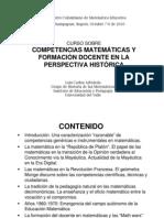 Competencias Matemáticas y Formación Docente
