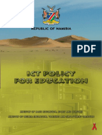 18 ict policy for education namibia