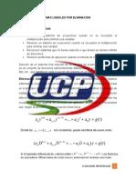 SOLUCION DE SISTEMAS LINEALES POR ELIMINACION.docx
