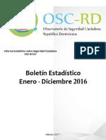 Boletín Anual 2016