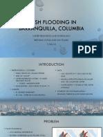 Flash Flooding in Barranquilla, Columbia