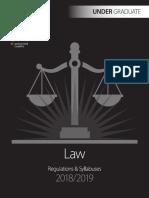 Law Undergrad
