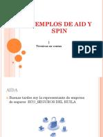 EJEMPLOS DE AID Y SPIN