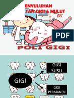 Bahan Penyuluhan Gigi
