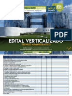 Mpu Técnico Edital Verticalizado
