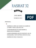 Parashat Behar # 32 Inf 6018
