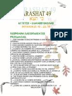 Parashat Ki Tetze #49 Adol 2018