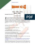Parashat Matot-Masei # 42-43 Jov 6018