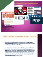 Franchising Business Model- Ratnendu Final