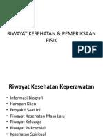 KELOMPOK 1 promkes_RIWAYAT KESEHATAN & PEMERIKSAAN FISIK.pptx